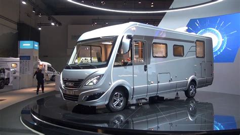 A brand new Hymer! B708SL motorhome review - YouTube