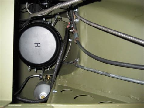 Willys Overland Jeep MB G503 - Fuel Line Routing