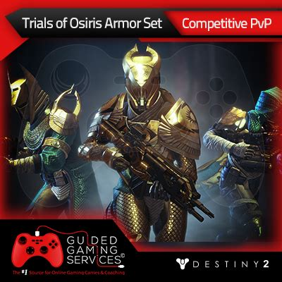 Trials of Osiris Full Armor Set   Guided Gaming Services