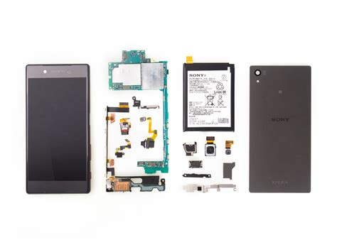 iFixit posted photos of a Sony Xperia Z5 teardown, check