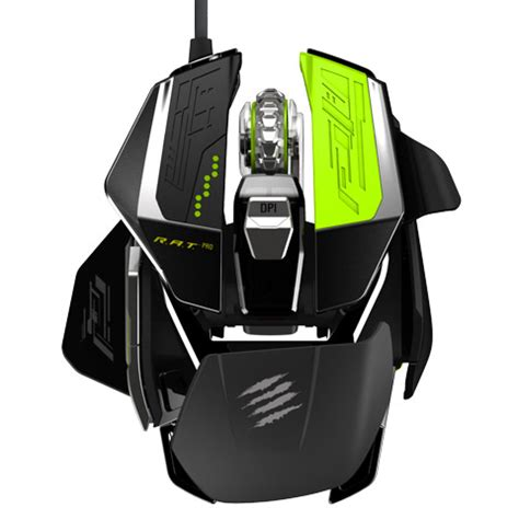 MAD CATZ RAT Pro X Gaming Mouse E3 Hands-On Preview