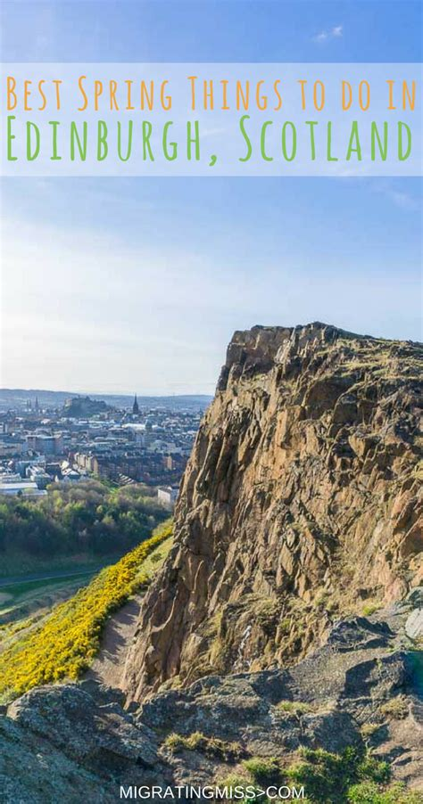 The Best Things to Do in Edinburgh During Spring