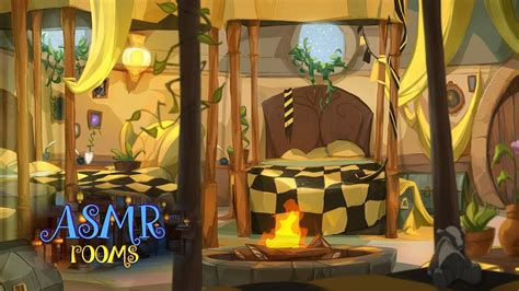 Harry Potter Inspired Ambience - 💛 Hufflepuff Dormitory
