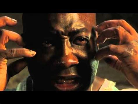 """The Green Mile, John Coffey """"pieces of glass in my head"""
