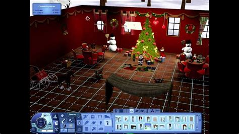 The Sims 3 Building Christmas Decorations - YouTube