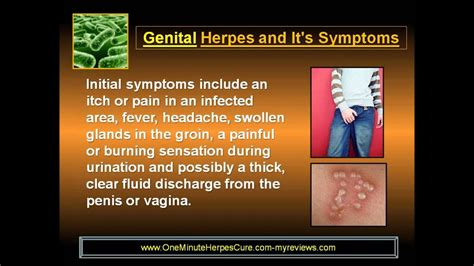 Early Stages of Herpes Pictures