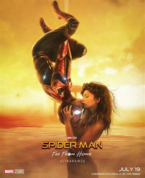 Spider-Man: Far From Home Fan Poster Includes A Nod To