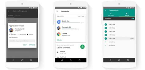 Google Family Link for Android: more control over your