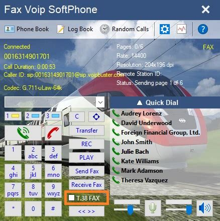 Fax Voip Softphone - Phone, Fax, Call Recording - DellMont