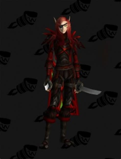 Rogue Outfits - World of Warcraft
