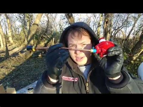 How To Install a First Stage Propane or LP Regulator - YouTube