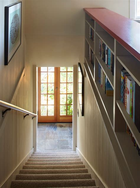 Stair-side Bookcases - Fine Homebuilding