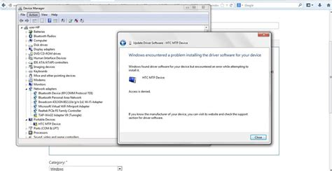 windows encountered a problem installing the driver