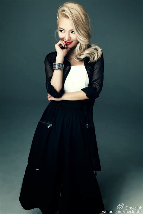 More of SNSD HyoYeon's photos and BTS video from 'ME